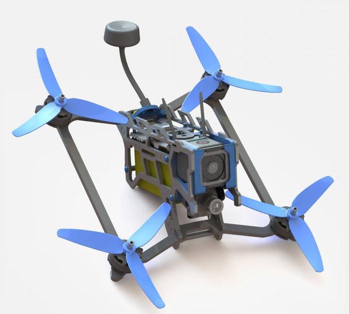UVify warp 9 drone