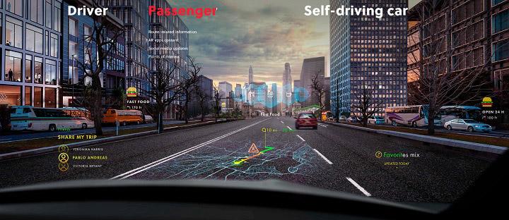 WayRay NAVION AR Car Navigation System 03
