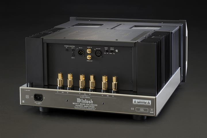 McIntosh MC611 Quad Balanced Power Amplifier rear 01 (Custom)