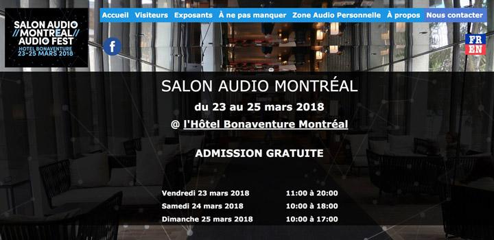 Montreal Audio Fest 2018