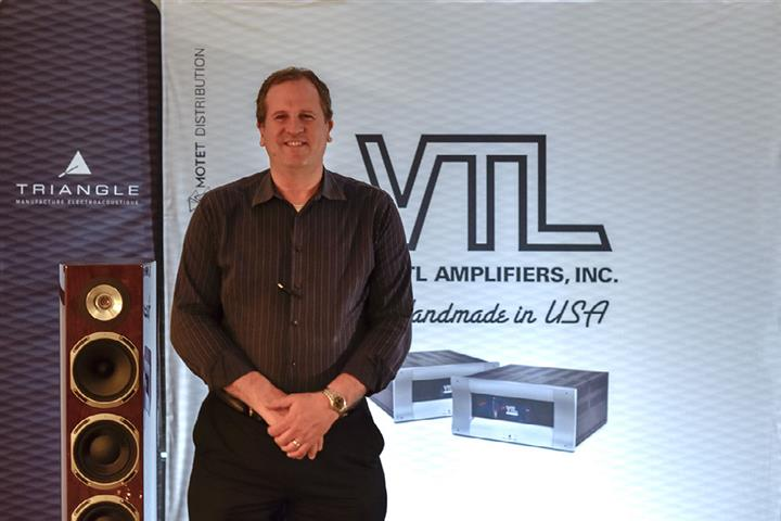 Luke Manley, President of VTL Amplifiers (Custom)