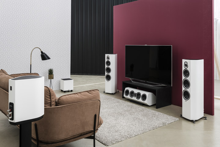 Sonus faber Sonetto White Home theater