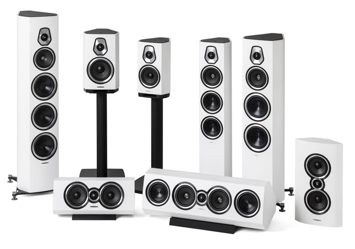 Sonus faber Sonetto collection _Matte White