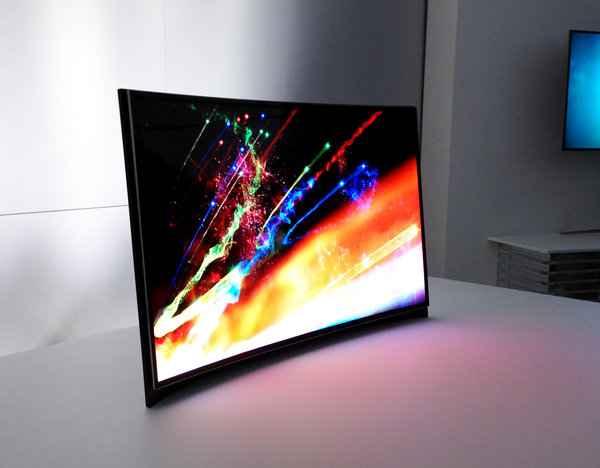 Samsung Curved OLED TV CES 2013