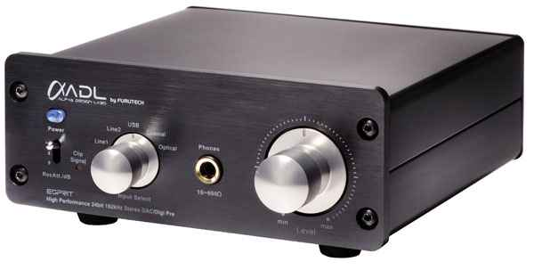 ADL Esprit DAC and Digital Preamplifier front