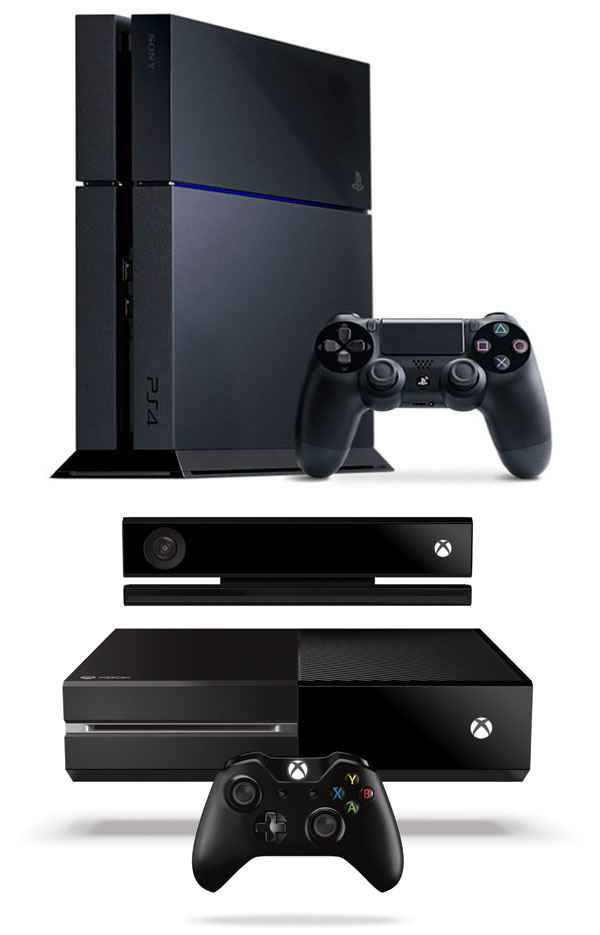 Sony PlayStation 4 Versus the Microsoft Xbox One