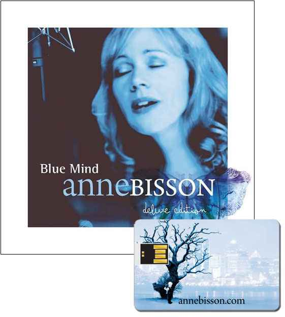 Anne Bisson Blue Mind Album ver2