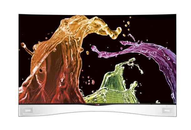 LG 55-inch OLED TV (LG 55EA9800)