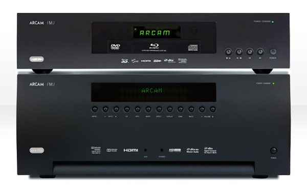 ARCAM AVR700 and BDP300