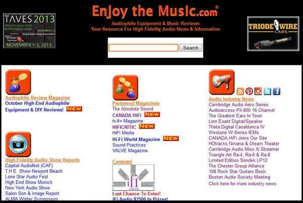 CANADA HiFi Partners With Enjoythemusic web
