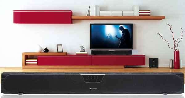 Pioneer Speaker Bar System For Flat Panel TVs