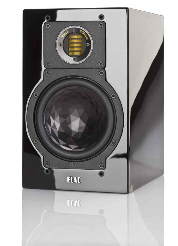 ELAC BS 244 Black Edition Bookshelf Speakers