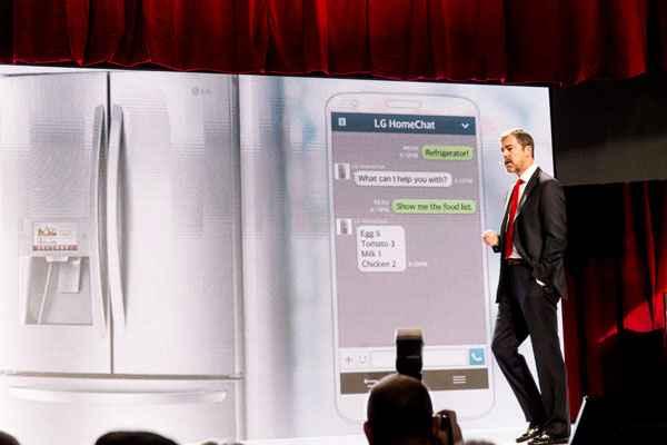 LG Appliances Home Chat CES 2014 web