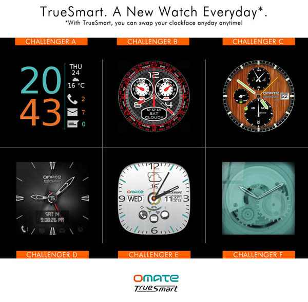 Omate TrueSmart smart watch