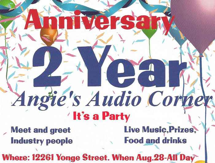 Angie's Audio Corner 2nd Year Anniversary