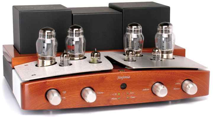 Unison Research Sinfonia Integrated Tube Amplifier web