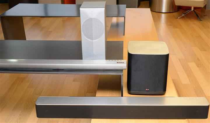 LG Music Flow Wi-Fi Series Speakers and Blu-ray Player (Custom)