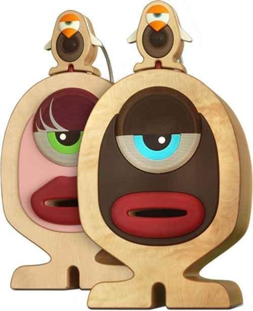 The Varios MRT Vincent & Lola Speakers - most unusual look speakers