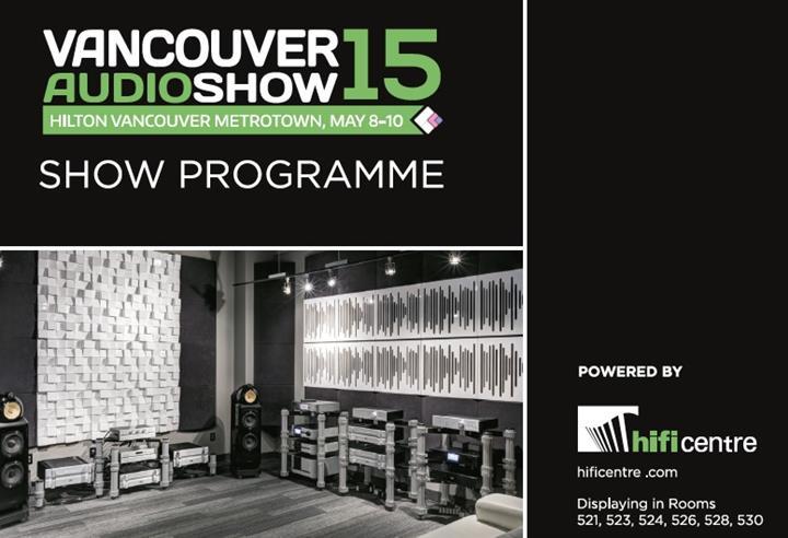 Vancouver Audio Show Program (Custom)