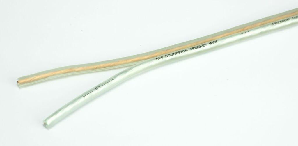 SVS speaker cables bare
