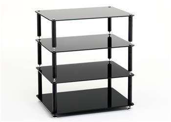 Discrete HiFi 4 - Black with Black Glass