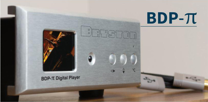 Bryston Pi Digital Music Player web
