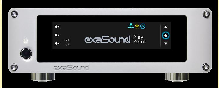 exaSound Audio Design PlayPoint Network Audio Player 01