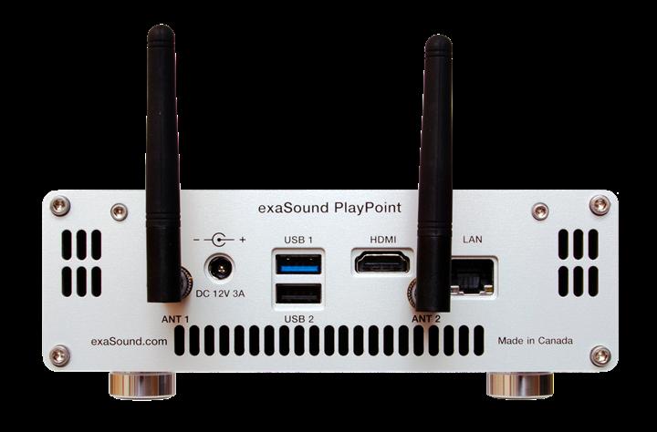 exaSound Audio Design PlayPoint Network Audio Player 02