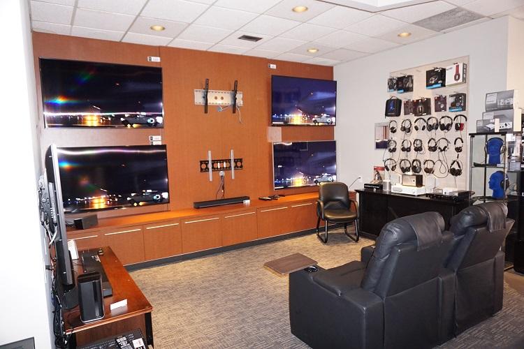 TV & Headphone Showroom