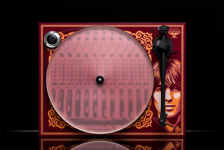 Pro-Ject Releases Limited Edition George Harrison Record Player 01