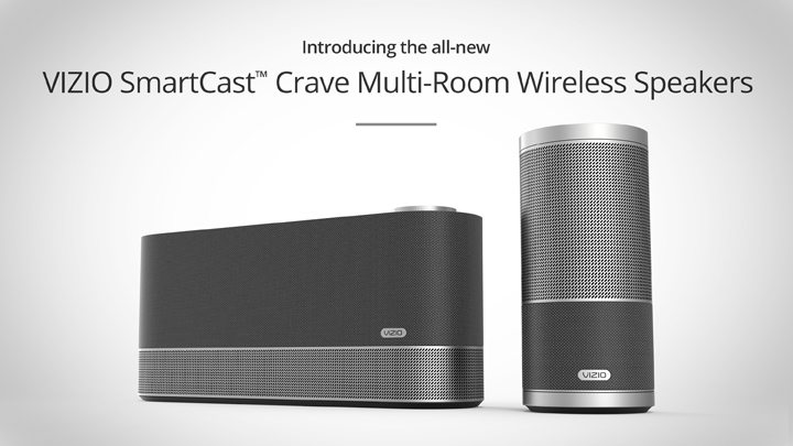 VIZIO SmartCast™ Crave Multi-Room Wireless Speakers Now Available in Canada