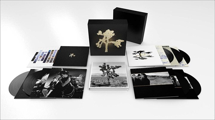 U2 Special 30th Anniversary The Joshua Tree Vinyl LP and CD Box Set