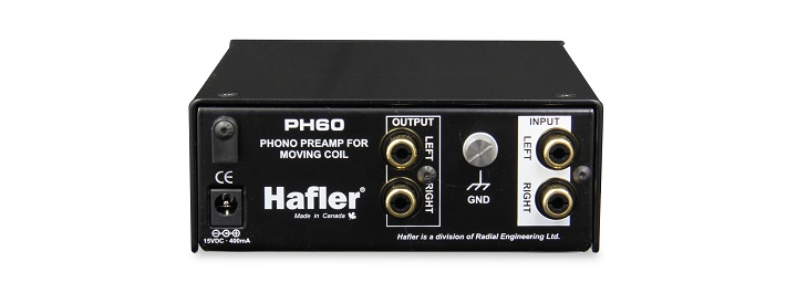 Hafler PH60 Solid State Moving Coil Phono Stage Review 05
