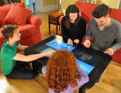 Multi Touch Digital Touchcenter.  The Coffee Table of the Future?