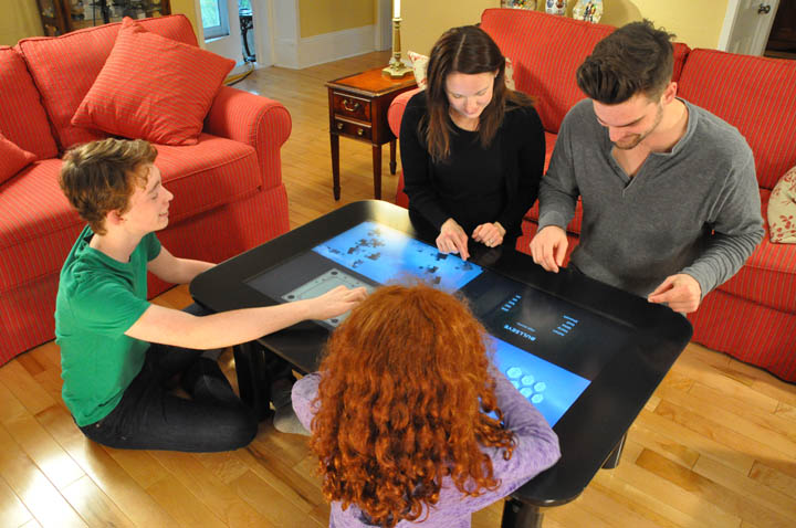 Multi Touch Digital Touchcenter Coffee Table 05