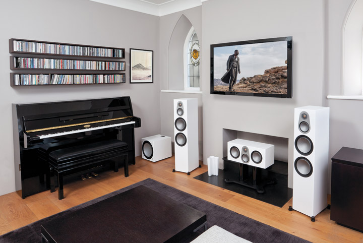 Monitor Audio Silver Series 500 Loudspeakers Review 02