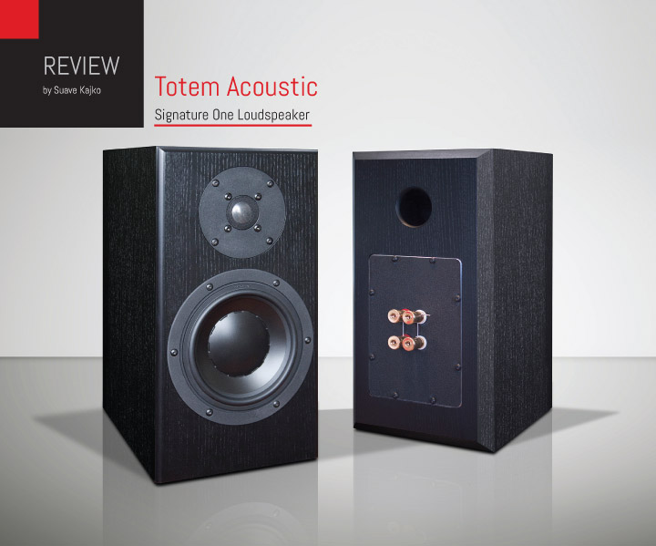 Totem Signature One Loudspeaker Review.indd