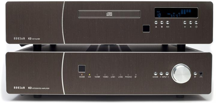 Roksan K3 Integrated Amplifier + K3 CD player 01 (Custom)