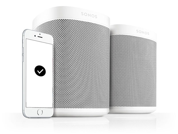 Sonos One Smart Speaker with Built-in Alexa 03