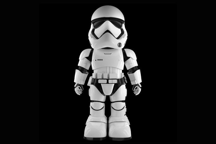 Ubtech Robotics First Order Stormtrooper Robot 01