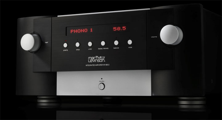 Mark Levinson No 585.5 Integrated Amplifier 01