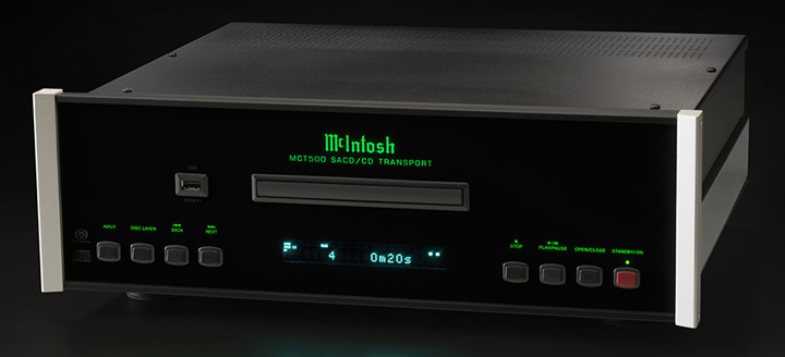 McIntosh MCT500 SACD CD Transport 01