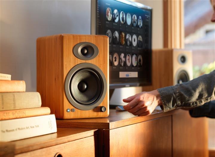 Audioengine A5+ Premium Wireless Speaker System 02 (Custom)