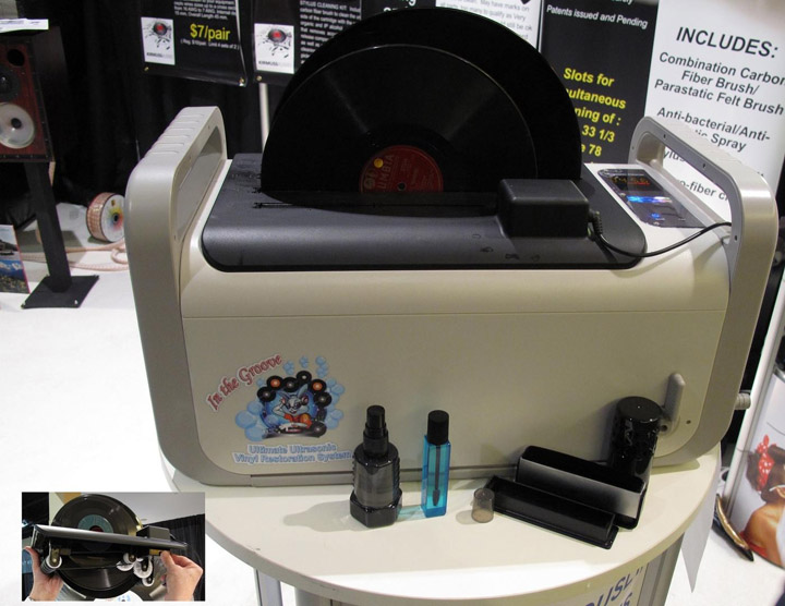 Kirmuss Audio Ultrasonic Record Cleaner