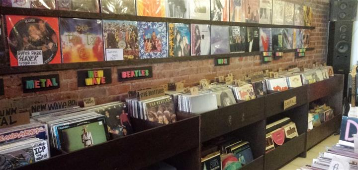 Grasshopper Records Toronto (Custom)