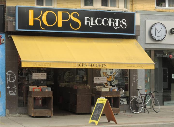Kops Records Toronto (Custom)