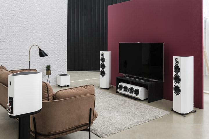 Sonus faber Sonetto White Home theater
