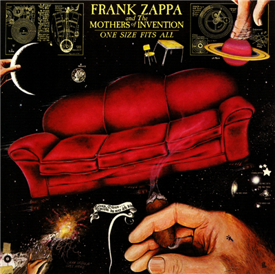 Frank Zappa & The Mother's Of Invention One Size Fits All (Custom)