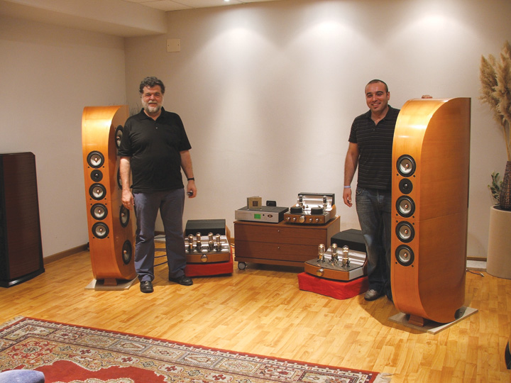 Unison Research Mario Bon, Speaker Engineer Mario Bon, Speaker Engineer;