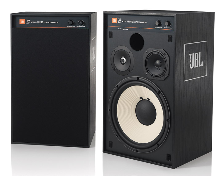 JBL 4312 SE 70th Anniversary Monitor Speakers 01